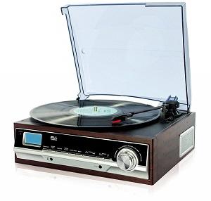 Stereoanlage mit Plattenspieler Test